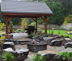 Backyard Grill Ideas by Fire Pits Ship Design