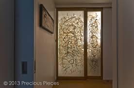 Modern Bathroom Doors Calligraphic Washi Sliding Doors For Modern Bathroom Precious