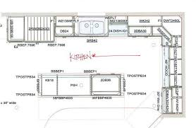 floor plan designer kitchen winsome kitchen floor plans with dimensions most