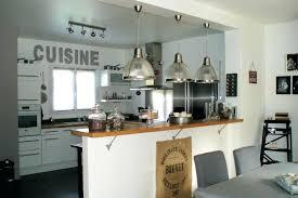 image de cuisine ouverte idee amenagement cuisine ouverte