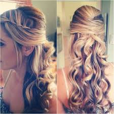 15 fabulous half up half down wedding hairstyles prom hairstyles