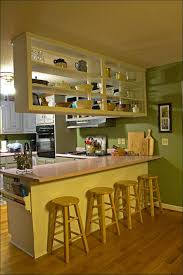 Kitchen  Painted Kitchen Cabinets Before And After Painting - Easiest way to refinish kitchen cabinets