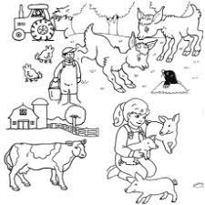 10 farm coloring pages toddler love color