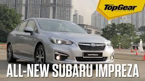 subaru singapore all new subaru impreza at the singapore motorshow 2017 youtube