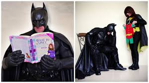 batman and robin halloween costumes for couples couple gives their pregnancy announcement the superhero treatment