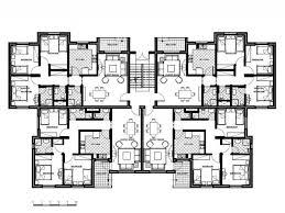apartment design plans floor plan 4 unit apartment building plans 4 storey residential building