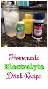 homemade electrolyte drink recipe homemade electrolyte drink