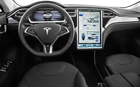 tesla inside engine tesla adds first driver assist features to model s gas 2