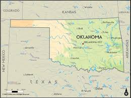 United States Map With Lakes And Rivers by Oklahoma Rivers Map