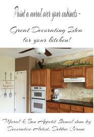 kitchen mural ideas art ideas by debbie cerone