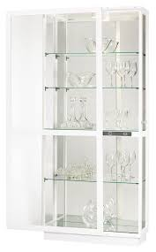 Curio Cabinet With Glass Doors White Curio Cabinet Glass Doors Ideas Smart