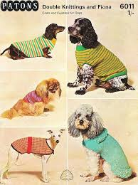 42 best knit for dogs images on pinterest stricken clothes for