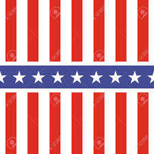 White American Flag Patriotic Usa Seamless Pattern American Flag Symbols And Colors