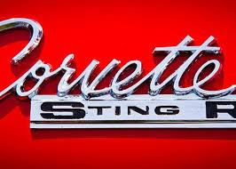 1963 corvette emblem 1963 chevy corvette stingray emblem greeting card for sale by