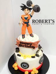 dragon ball z gym cake cake by robert harwood cakesdecor