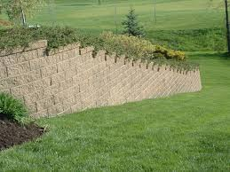 Retaining Wall Landscaping Ideas Decorating Segmental Retaining Wall By Versa Lok For Exterior