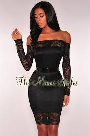 black lace dress lace shoulder dress