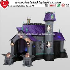 Halloween Fun House Decorations Halloween Inflatable Haunted House Halloween Inflatable Haunted