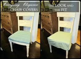 Diy Dining Room Chair Covers Dining Chairs Dining Chair Seat Cover Fabric Chair Seat Covers