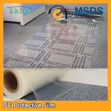 custom plastic floor covering roll protective plastic for