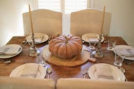 Bright Color Setting Jenny Steffens Hobick Fall Table Setting With A Muted Color