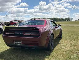 Dodge Challenger Wide Body - 2018 dodge challenger srt hellcat widebody new hellcat version