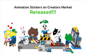 Line Store Animated Creators 39 Stickers Now Available On Line Store