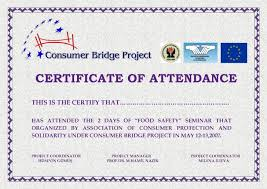 perfect attendance certificate editable high quality template