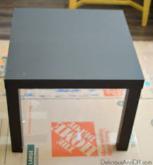 Ikea Lack Side Table Stencil A Portuguese Alhambra Tile Table Stencil Stories