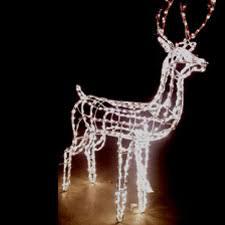 Christmas Reindeer Decorations Outdoor by 3d Lighted Reindeer