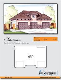 traditional garage plan clark advanced search house floor plans