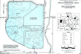 Map Of Lima Ohio by Findlay Reservoirs 1 U0026 2 Fishing Map Northwest Ohio