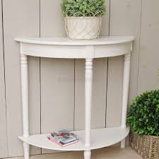 Ivory Console Table Ivory Half Moon Console Table Bliss And Bloom Ltd