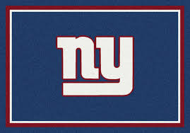 Area Rugs Nyc Milliken Area Rugs Nfl Spirit Rugs 00962 New York Giants