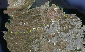 Map A Walking Route by Map Guide And Walk Route Along The Victoria Lines Malta Including