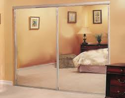bedroom mirror closet sliding door create wonderful light effects