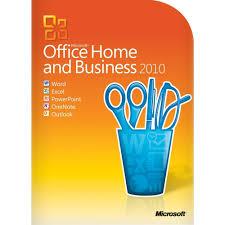 amazon com microsoft office home u0026 business 2010 2pc 1user one