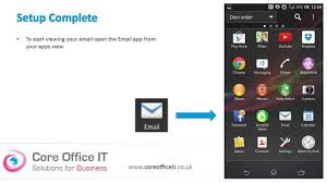 office 365 android setup set up microsoft office 365 on your android mobile phone