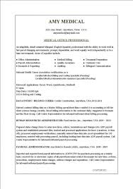 Medical Billing And Coding Resume Sample Medical Office Resume Sample Resume Sample
