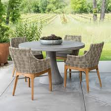 concrete patio dining table concrete patio dining table 28 images bordeaux concrete top