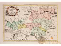 Map Austria Austria Old Map Circle Of Austria Rollos 1756 Mapandmaps