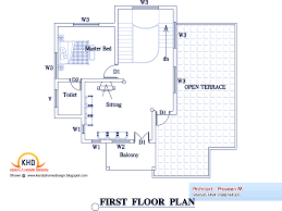 home designs with floor plan personalised home design march 2011 kerala home design and floor plans