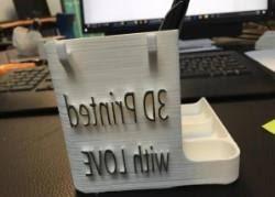 Post It Desk Organizer Post It Desk Organizer 3d Models Thingiverse