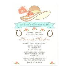 bridal shower invitations wording kentucky derby invitations 6787 together with derby hat bridal