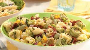 italian tortellini vegetable salad recipe bettycrocker com