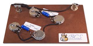 bcs guitars wiring upgrade for gibson u0026 epi es335 guitars bcs
