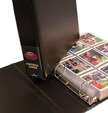 photo album binder football card collector album binder football