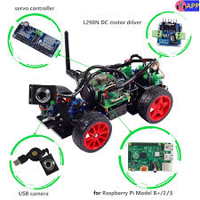 smart video car kit for raspberry pi with android app robotic