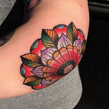 rose elbow tattoo flower pictures to pin on pinterest tattooskid