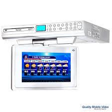 Under Kitchen Cabinet Tv Dvd Cd Player Radio Venturer Klv39092 9 Inch Under Cabinet Kitchen Tv With Built In